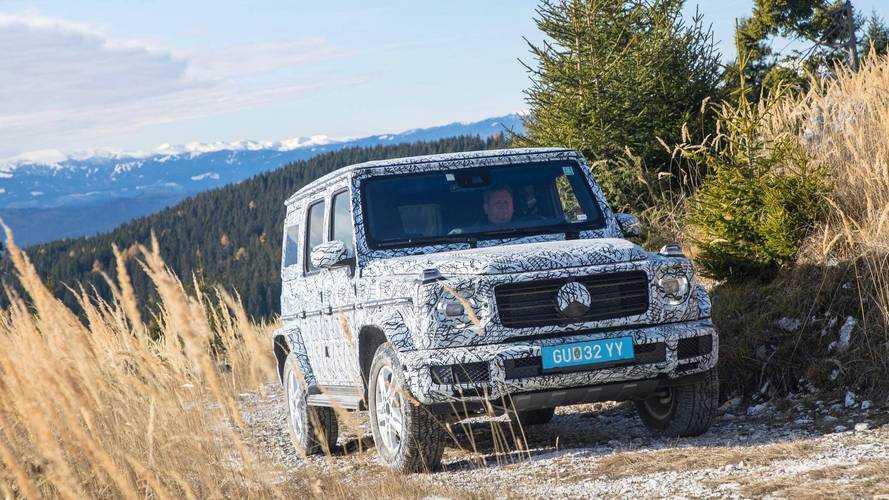 Részleteket árult el a Mercedes az új G-osztállyal kapcsolatban