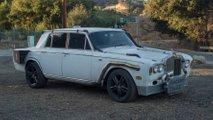 Rolls Royce Silver Shadow convertido en Hot rod