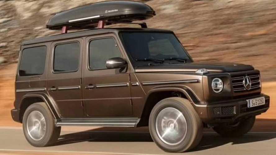 Mercedes-Benz Classe G en fuite