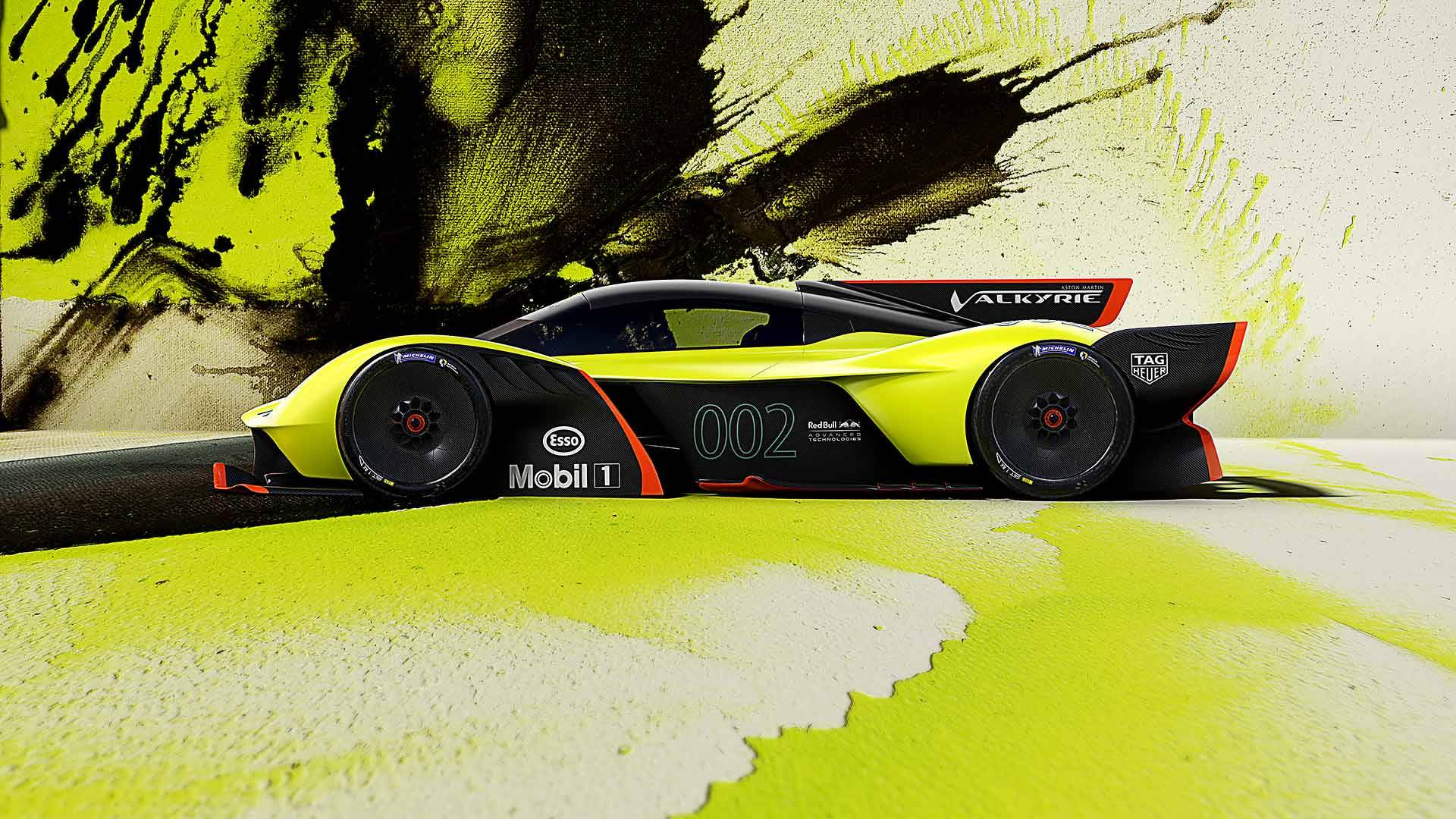Aston Martin Valkyrie Amr Pro Is A 1 100bhp Track Toy