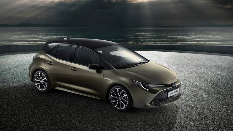 Toyota Auris (Corolla hatch) 2018