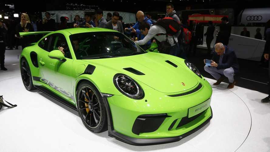 Porsche 911 GT3 RS Live From Geneva Motor Show
