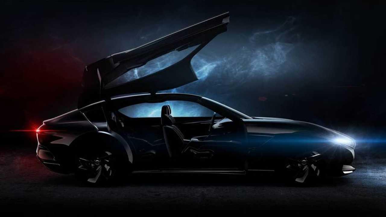 Pininfarina HK GT Concept teaser