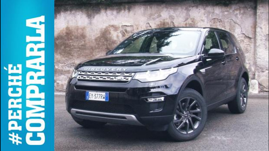 Land Rover Discovery Sport, perché comprarla... e perché no [VIDEO]