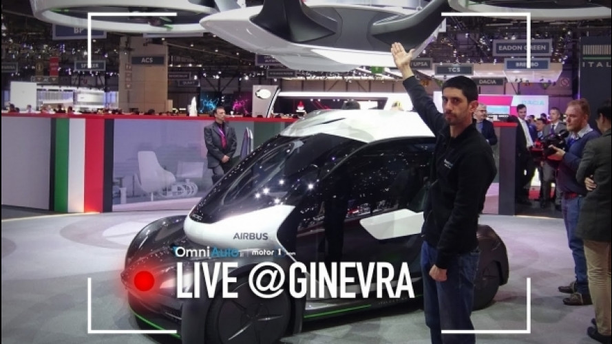 Salone di Ginevra, Italdesign tra supercar e auto volanti [VIDEO]