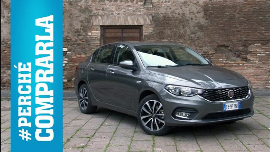 Fiat Tipo 4 porte, perché comprarla... e perché no [VIDEO]