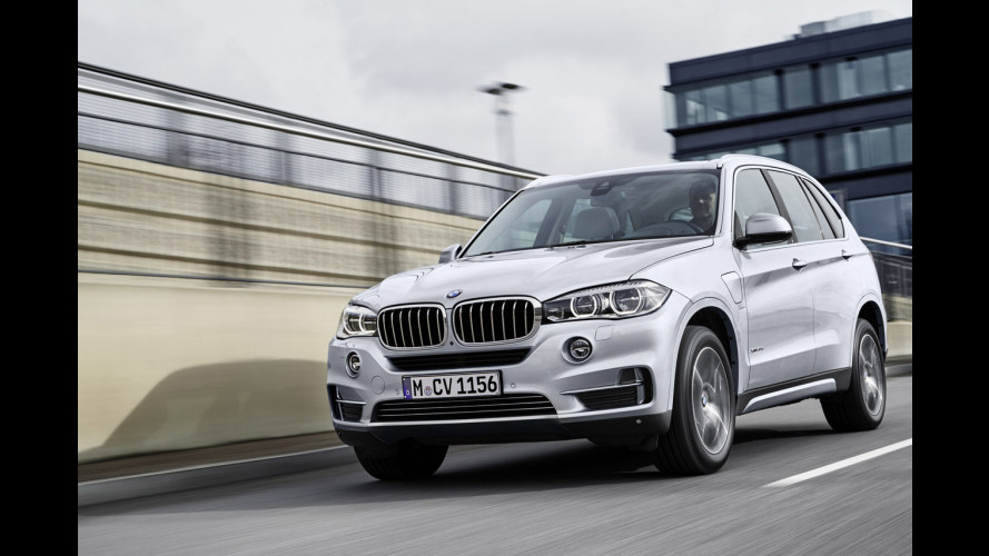 BMW X5 xDrive40e, ibrida plug-in alla bavarese
