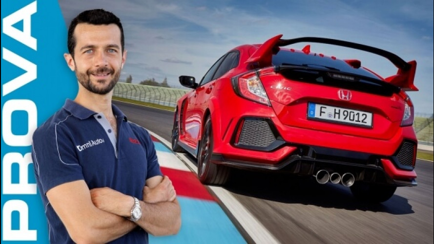 Honda Civic Type R, l'anteriore al suo massimo [VIDEO]