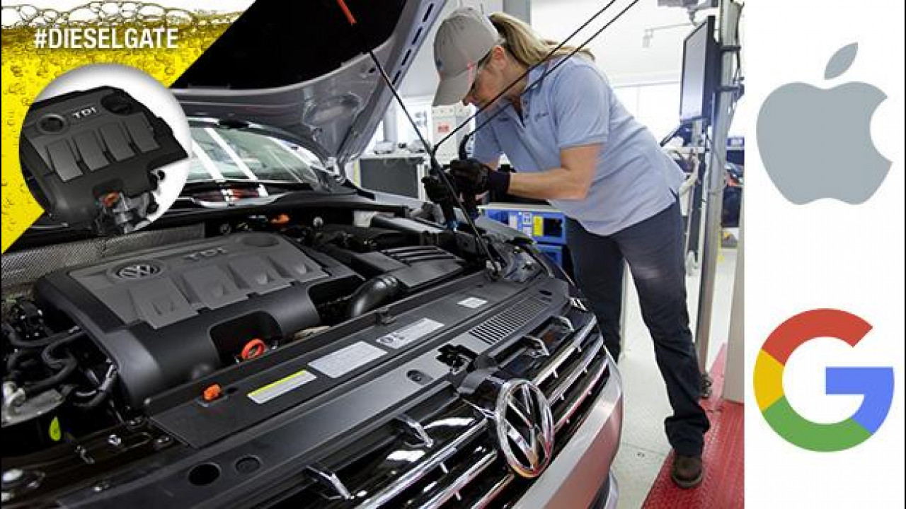 [Copertina] - Volkswagen Dieselgate, un assist a Apple e Google