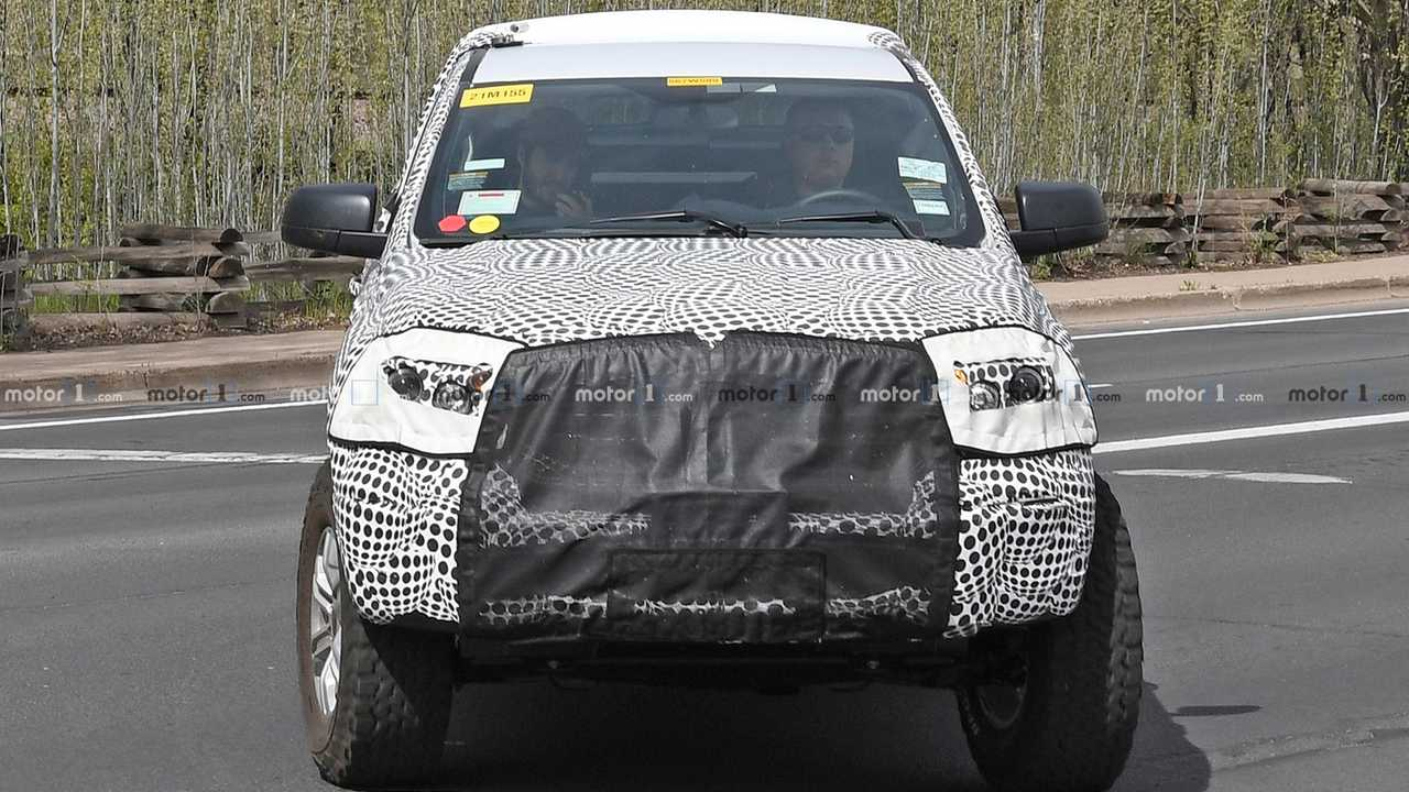 Ford Bronco Spy Shots