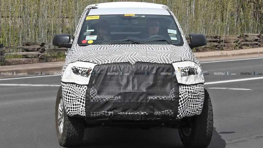 Ford Bronco Underbody Spy Shots