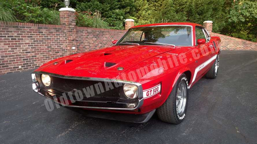 Low Mileage 1970 Ford Mustang Mach 1 Shelby GT500 Is A Baby