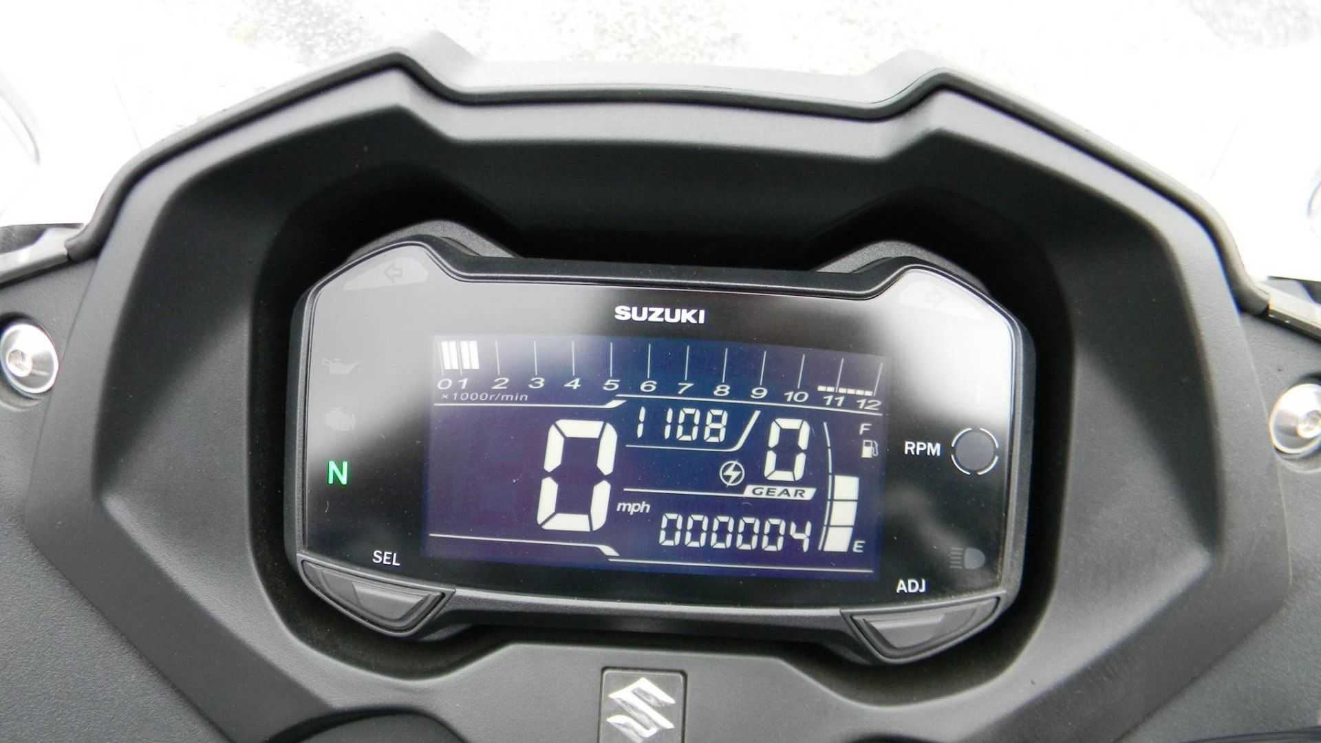 "[""2018 Suzuki GSX250R Has Only 4 Miles""]"