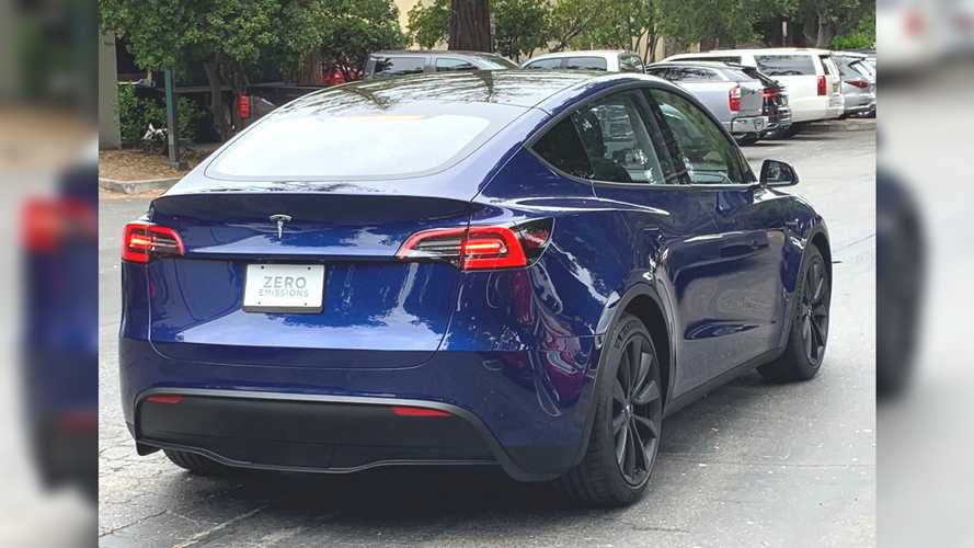 Le Tesla Model Y vu pour la première fois dans la rue
