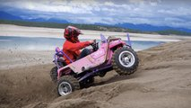 youtubers build crf450r barbie jeep