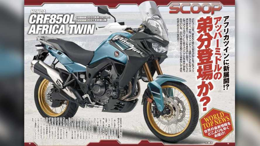 Rumor Control: An Africa Twin 850 Could Follow The Rumored 1100