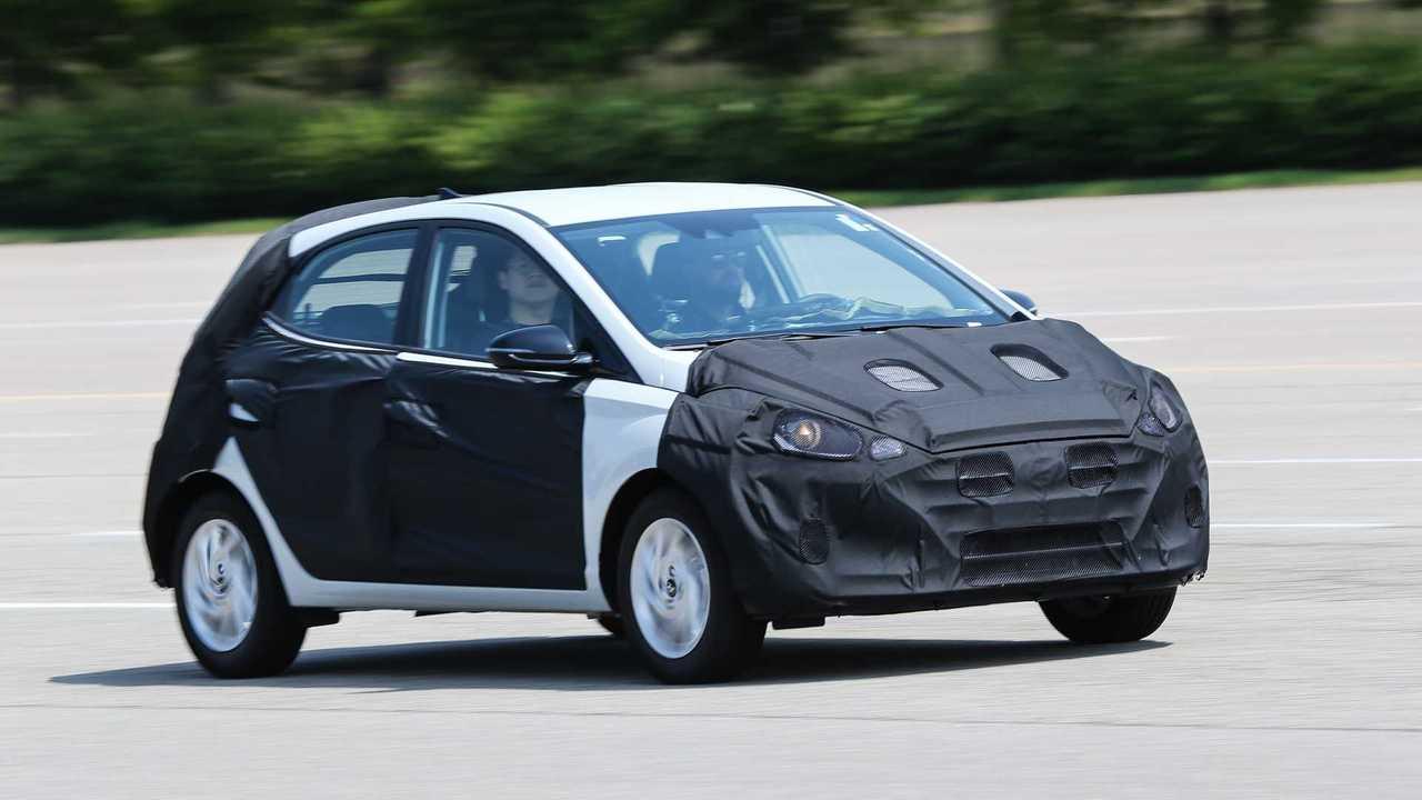 Hyundai HB20 2020 - Teste na Coreia do Sul