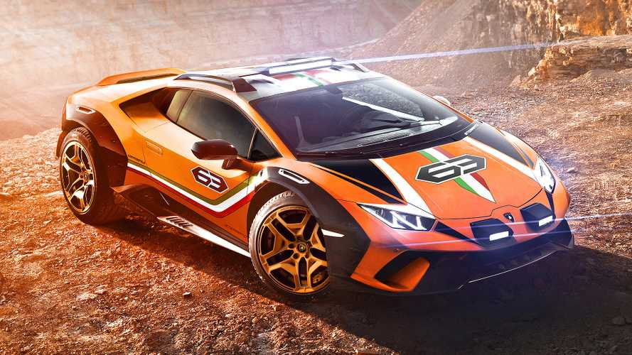 Lamborghini Huracán Sterrato Could Become A Reality