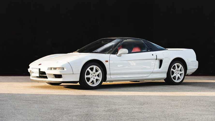 Pair Of Rare Honda NSX Type Rs Head To Auction