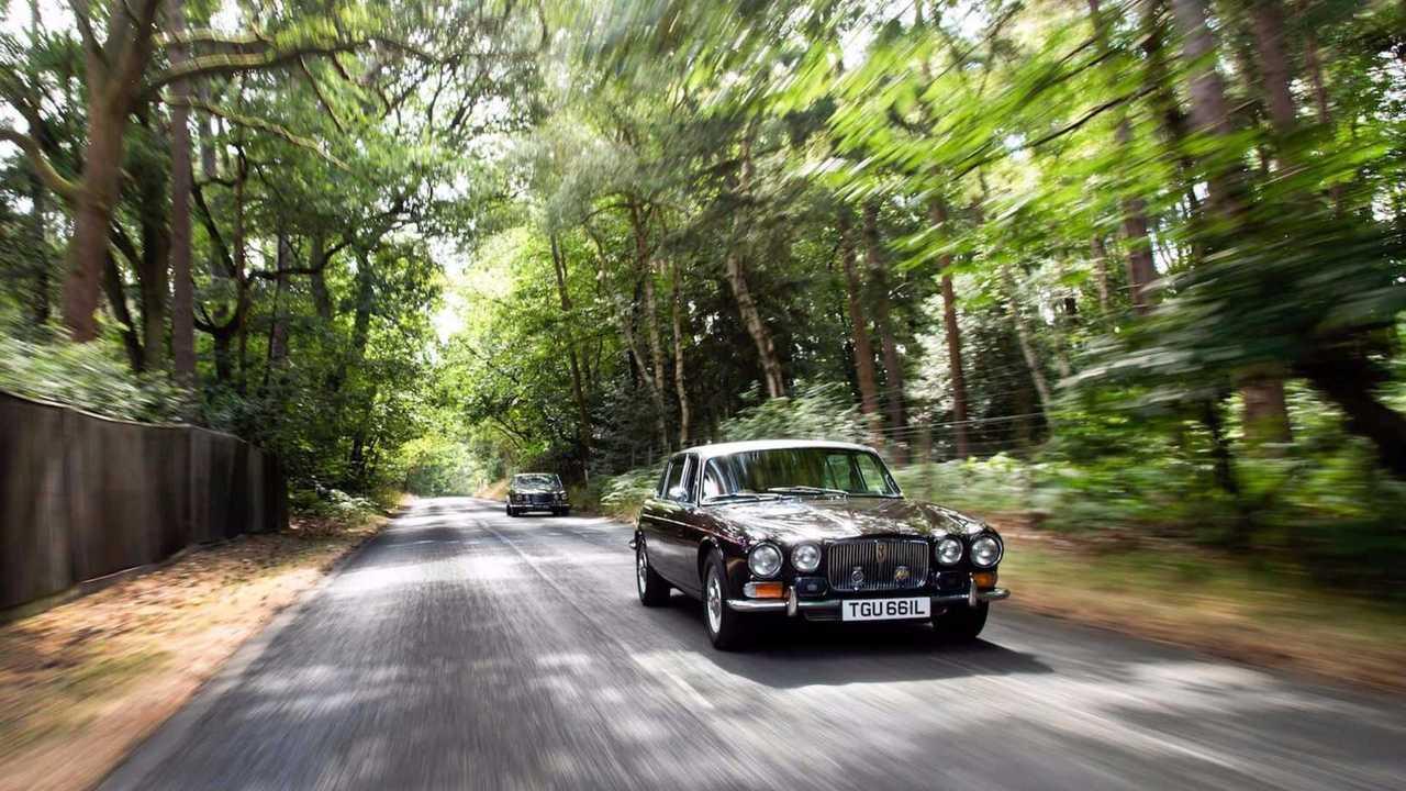 Queen Mother\'s Jaguar V12
