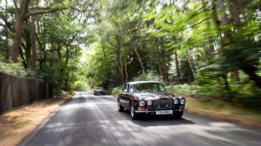 What's It Like To Drive The Queen Mother's Jaguar V12 Sovereign?