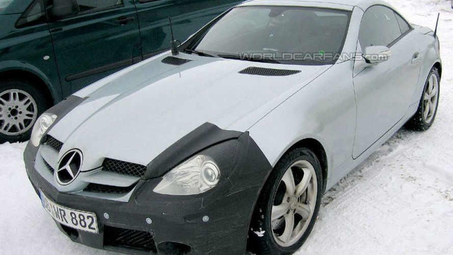 SPY PHOTOS: Mercedes CLS, SL and SLK Facelifts