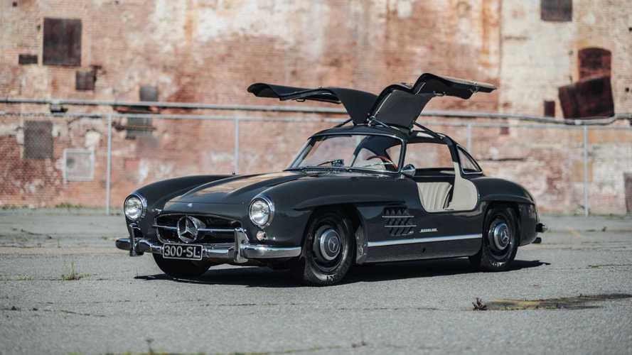 A subasta este increíble Mercedes-Benz 300 SL Gullwing restaurado