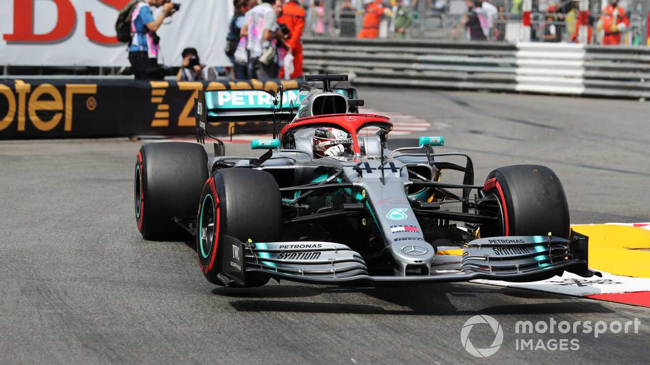 Lewis Hamilton at Monaco GP 2019