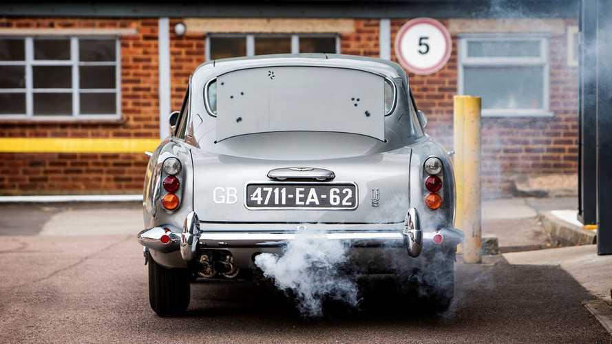 Aston Martin DB5, pagati 6 milioni di euro per quella di James Bond