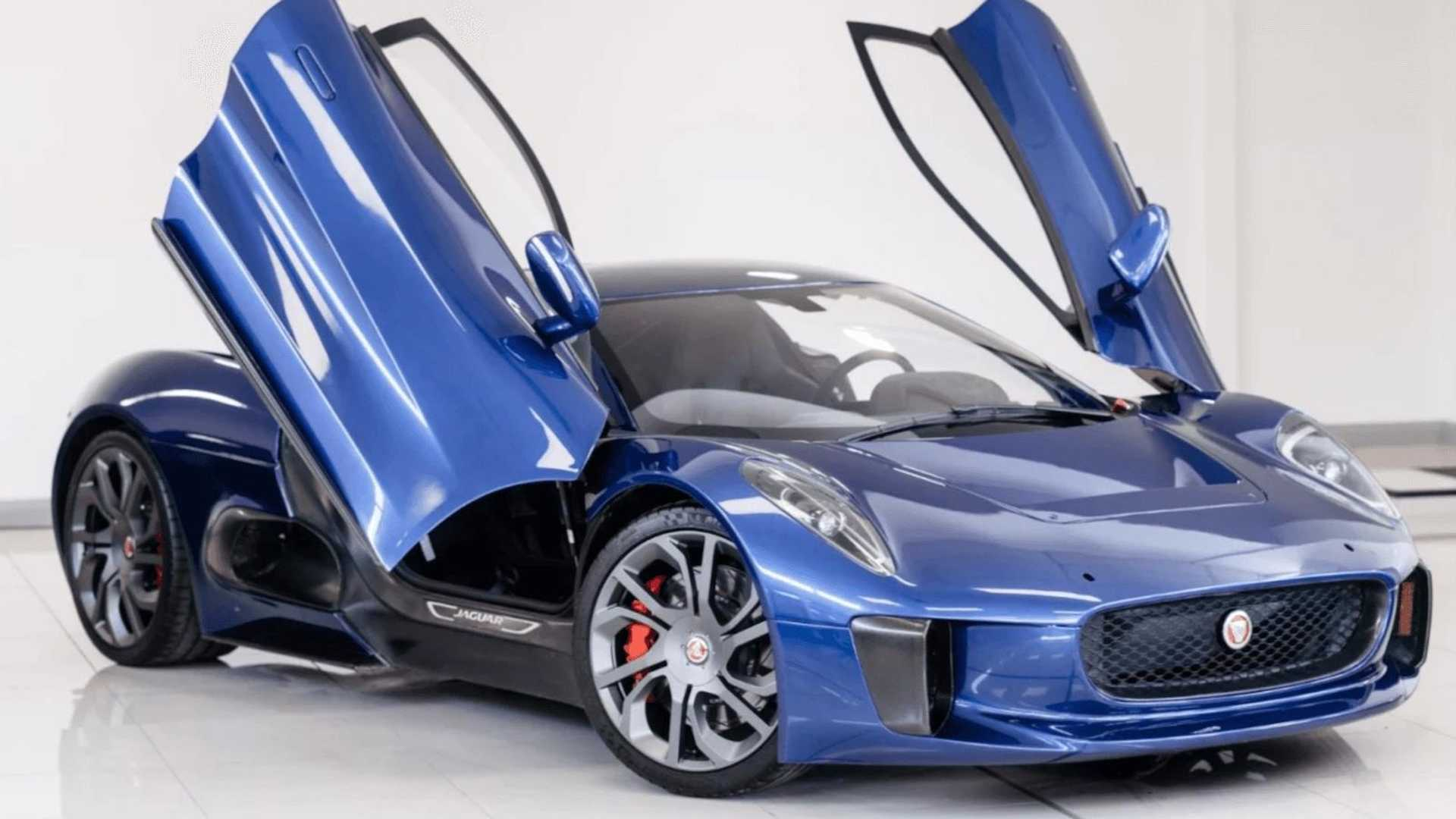"[""Jaguar C-X75 Spectre Stunt Car For Sale""]"