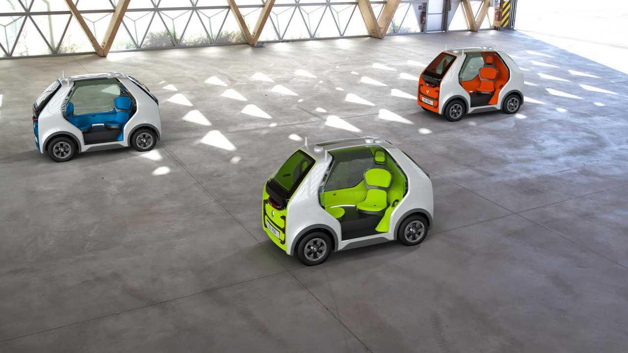 Renault'un Hızlı Ulaşım Konsepti EZ-POD