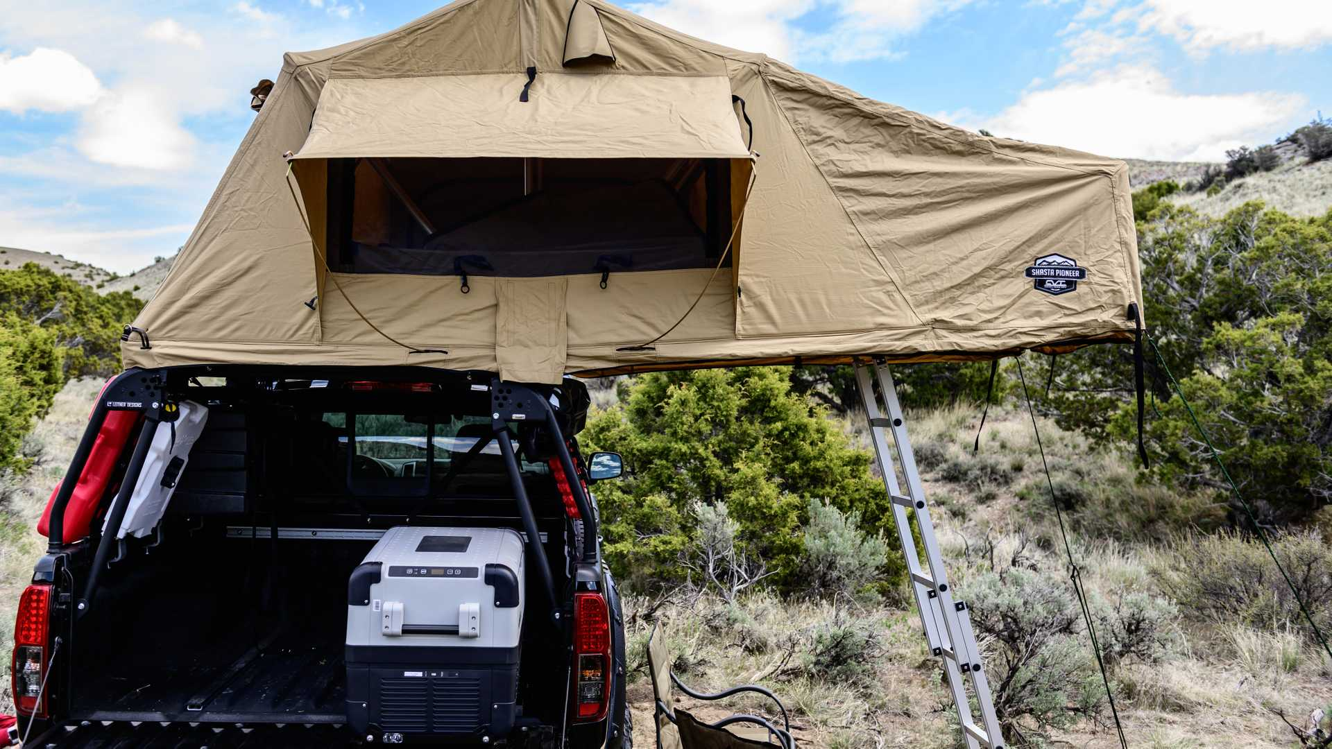 Nissan Destination Frontier Seeks Inexpensive Camping Adventures