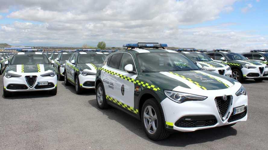 Alfa Romeo, 97 Stelvio per la Guardia Civil spagnola