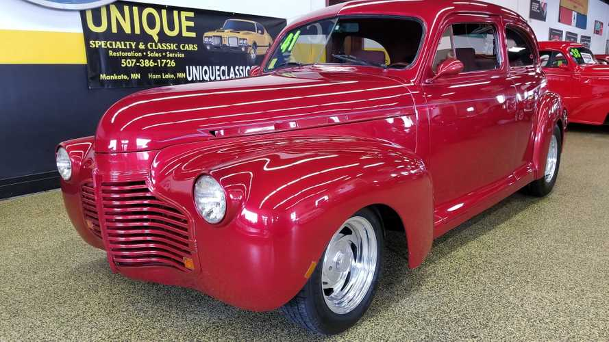 Roll In Style With This 1941 Chevrolet Master Deluxe Street Rod
