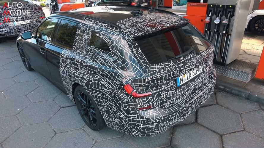 New BMW 3 Series Touring Spied In Hot M340i Specification