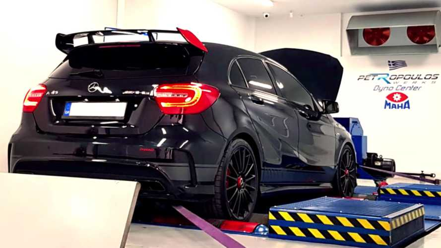 Highly Tuned Mercedes-AMG A45 Packs 600+ HP At Full Boost