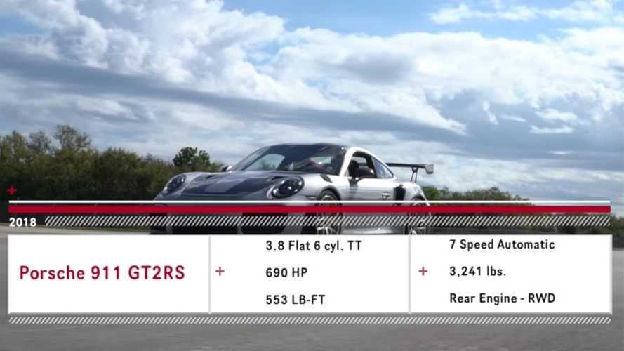 Porsche 911 GT2 RS top speed run