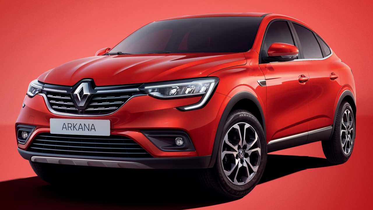 Renault Arkana Production Model Debuts As Affordable Coupe Suv
