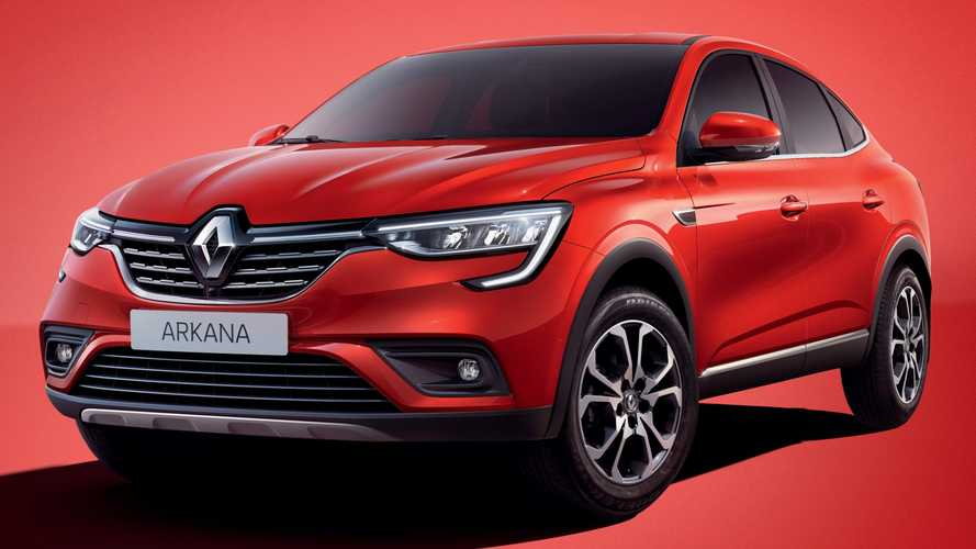 Renault Arkana revealed as affordable coupe-SUV for Russia