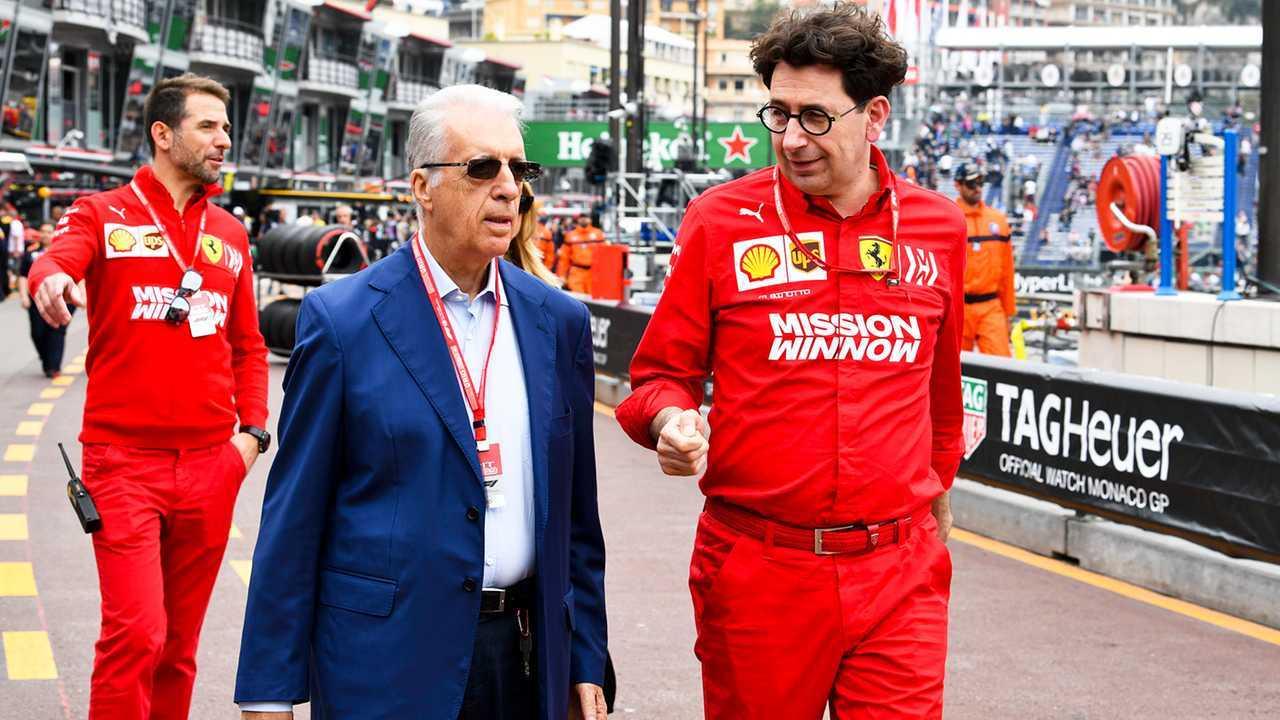 Piero Ferrari e Mattia Binotto