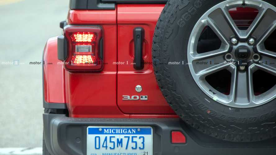 Jeep Wrangler Diesel Spy Shots