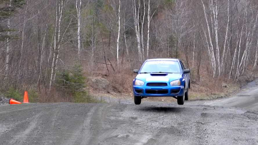 Video Teaches The Basics Of How To Jump A Rally Car
