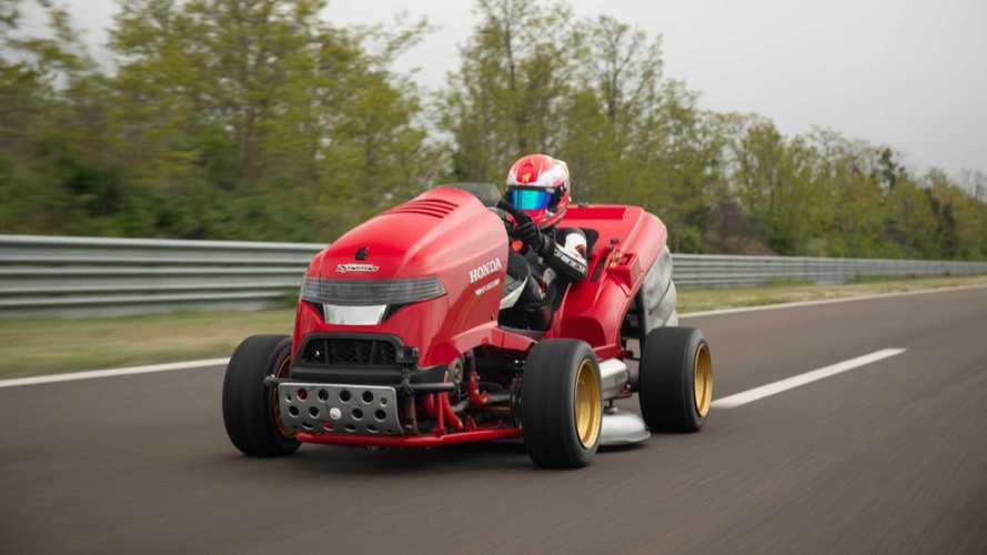 Honda Mean Mower V2, el cortacésped más rápido del mundo
