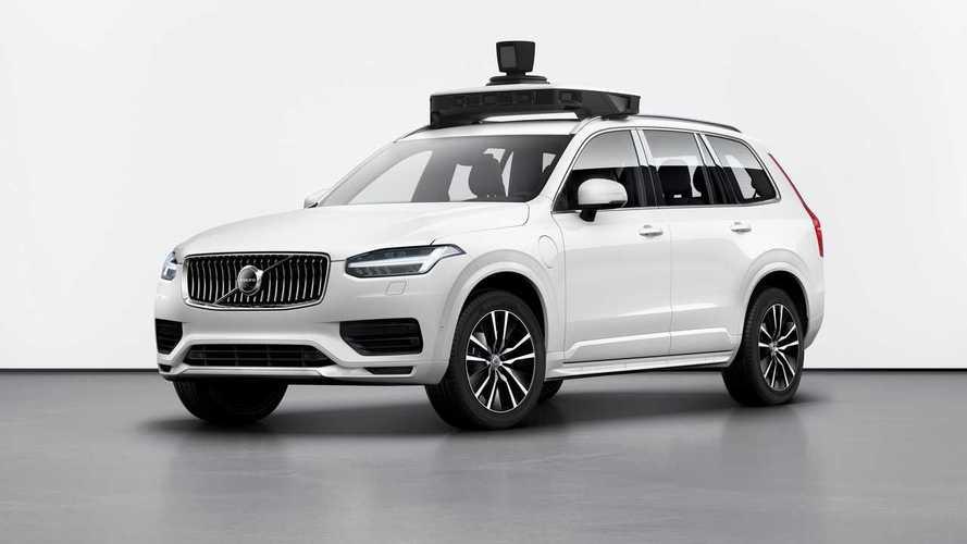 Volvo XC90 - Uber önvezető rendszer