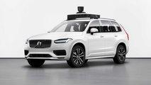 Volvo XC90, la guida autonoma con Uber