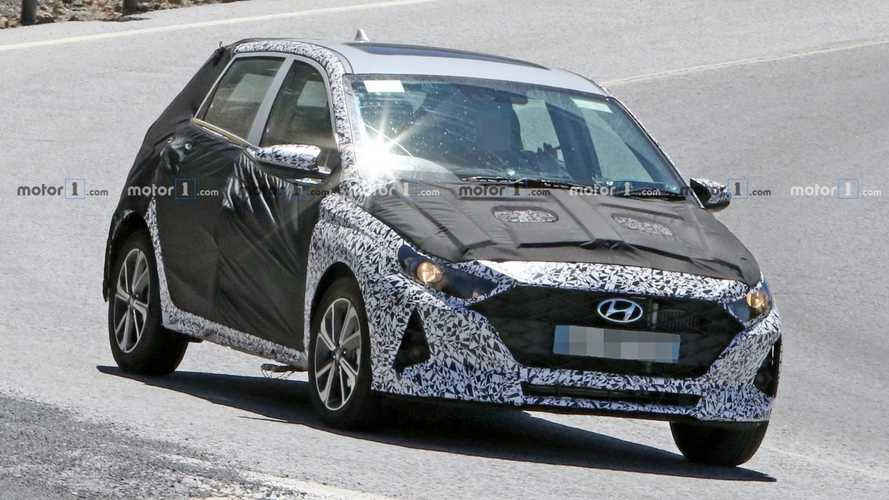 2020 Hyundai i10 reveals front end design in new spy photos