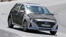 hyundai i10 spied revealing front