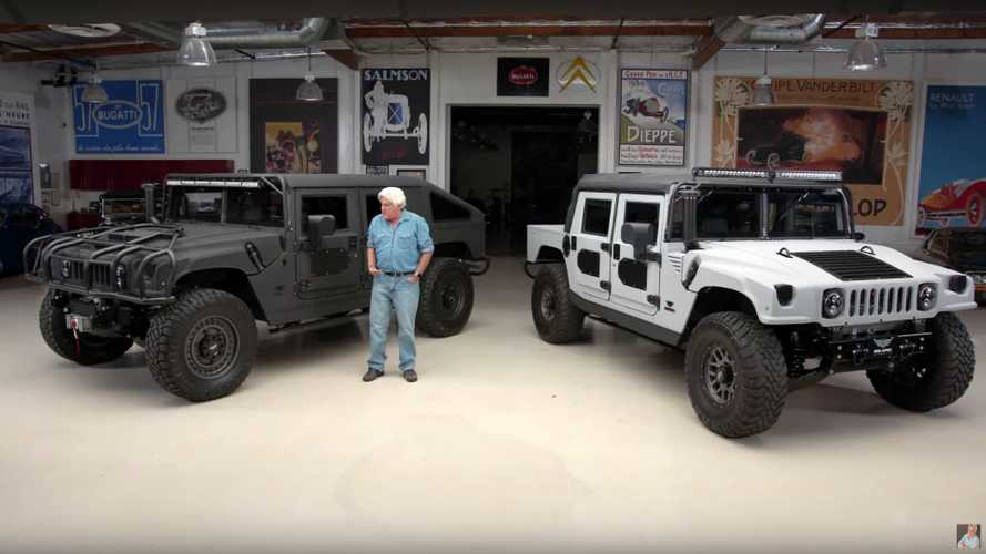 Jay Leno Drives a Hummer For The Modern Age