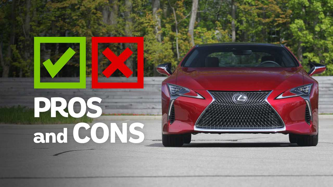 2019 Lexus LC500: Pros and Cons Graphics