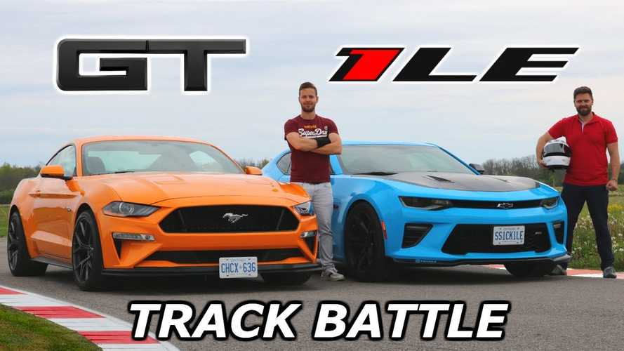 Mustang GT Vs Camaro SS Drag Race Is Neck And Neck